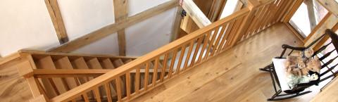 Bespoke hardwood staircases
