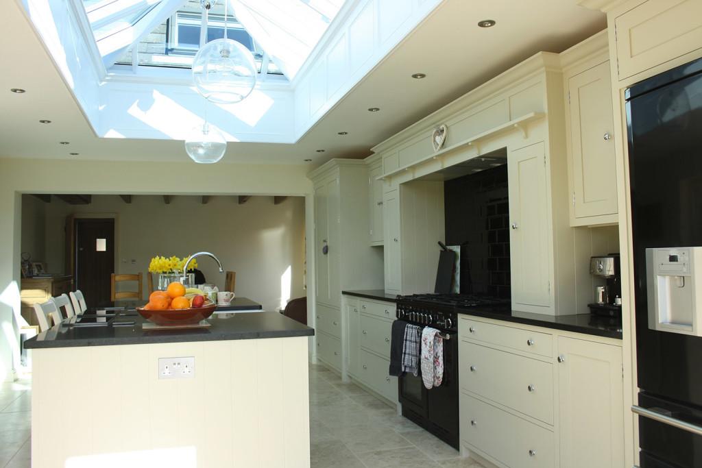 Roof Lantern Shaker Style Kitchen