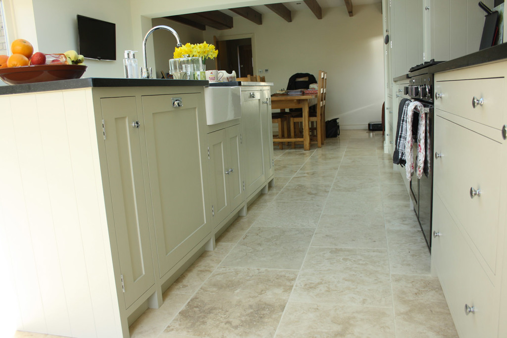 shaker style painted handmade kitchen