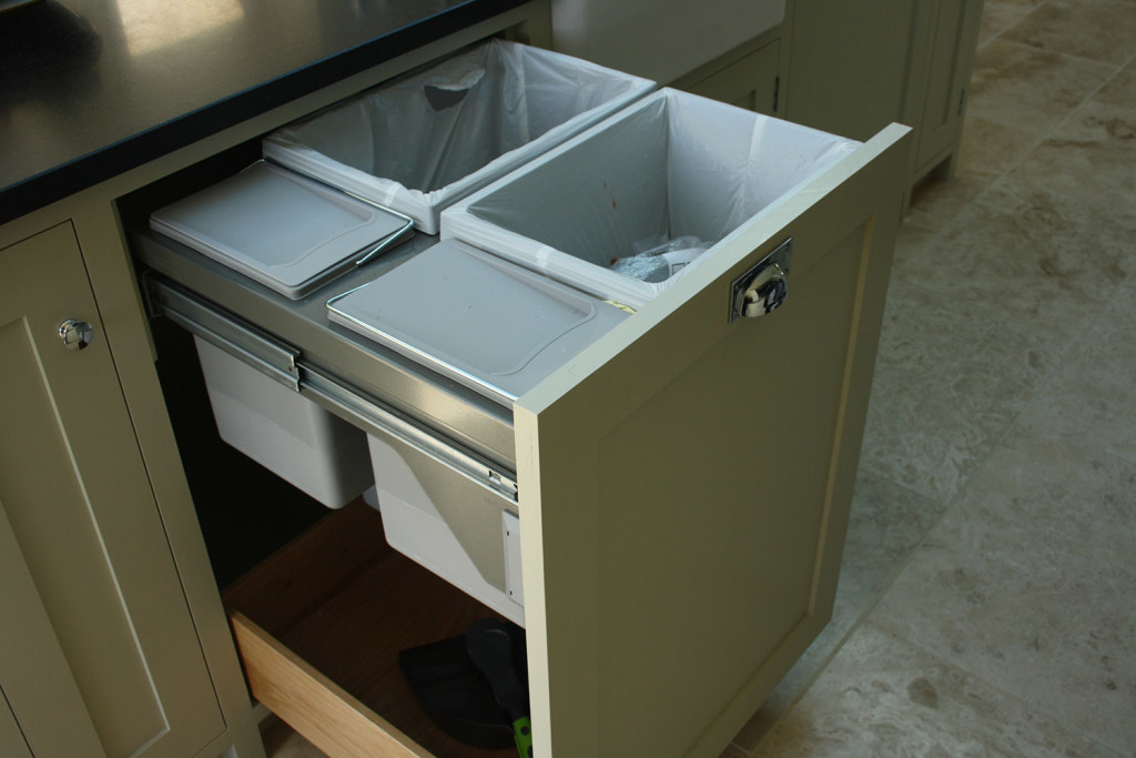 purpose made pull out refuse unit
