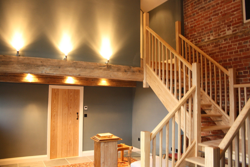 ash joinery staircase & door