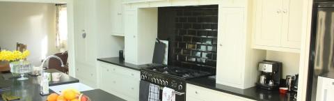 Bespoke, handcrafted shaker style kitchen