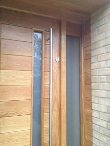 oak front door- horizontal 1