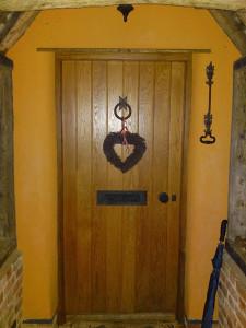 oak front door vertical boards