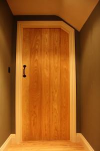 purpose made ash boarded door