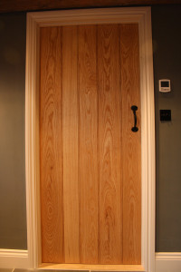 purpose made ash internal boarded door