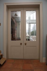 purpose made glazed internal doors
