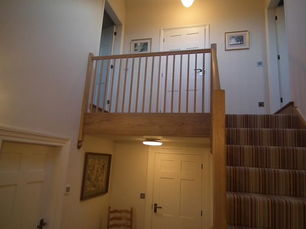purpose made oak staircase 1