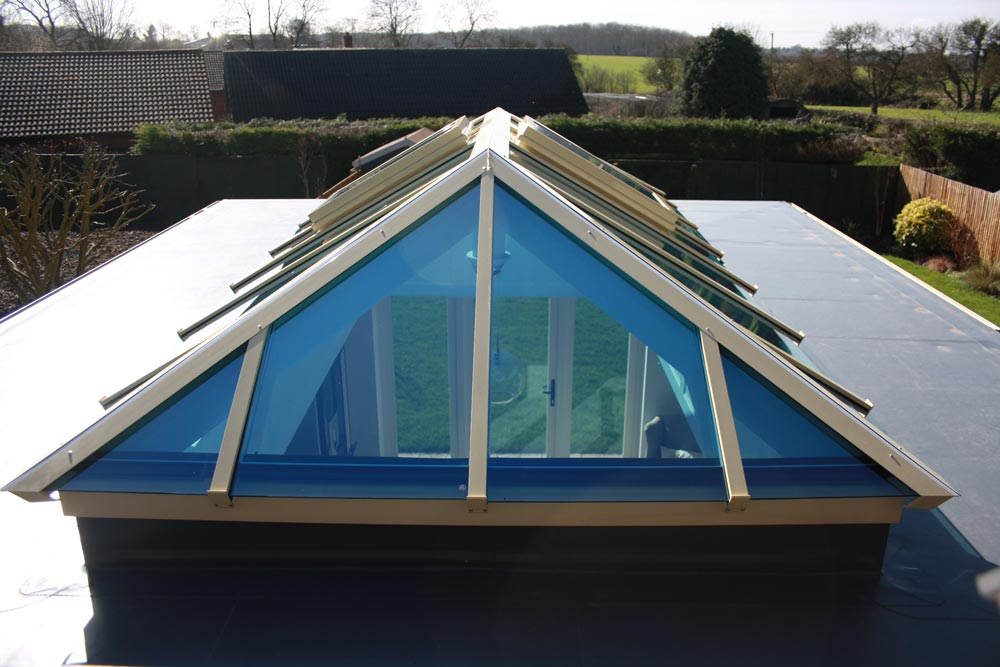 purpose made roof lantern exterior