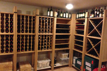 Cellar Wine Racking