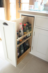handmade pull out drawer unit