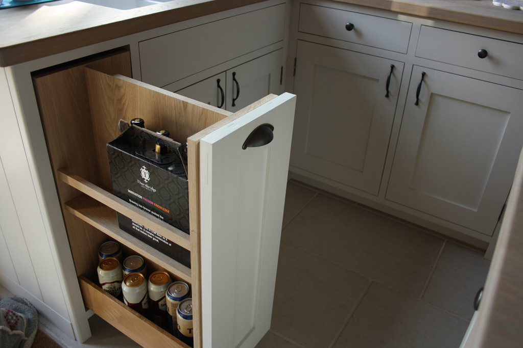 bespoke pull out drawer unit