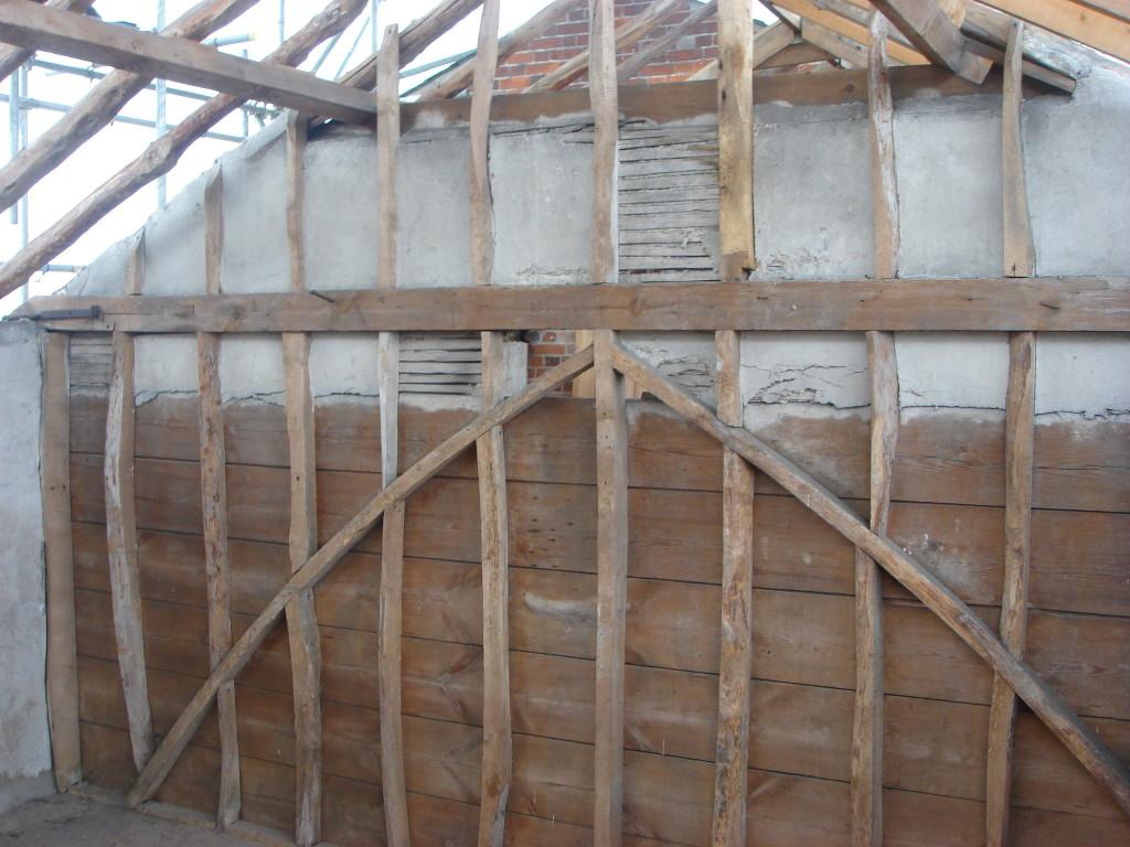 oak beam refurbishment 1a