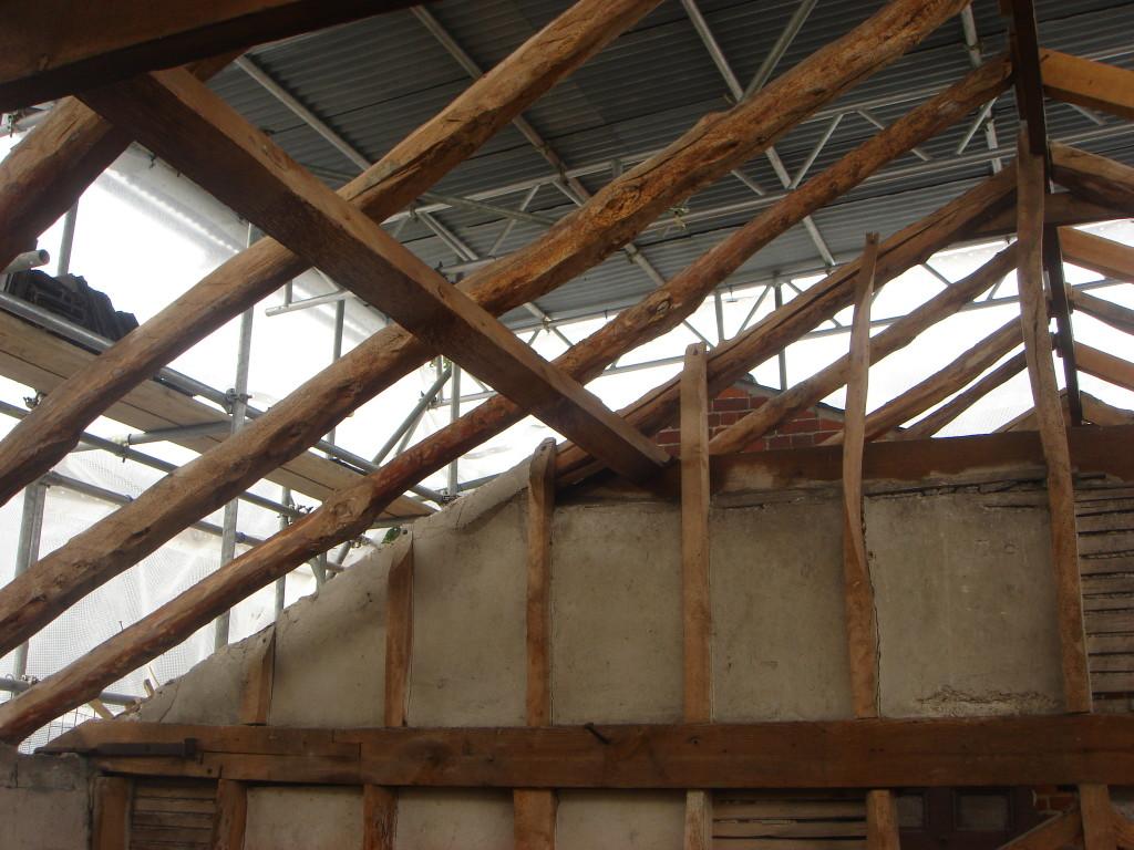 oak beam refurbishment 3c