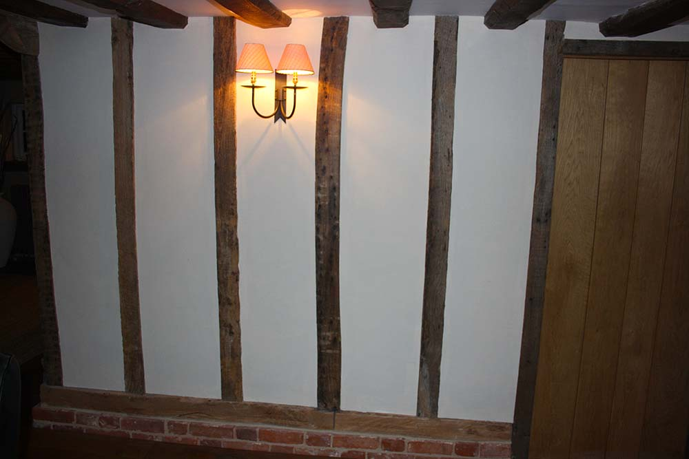 oak beam renovation