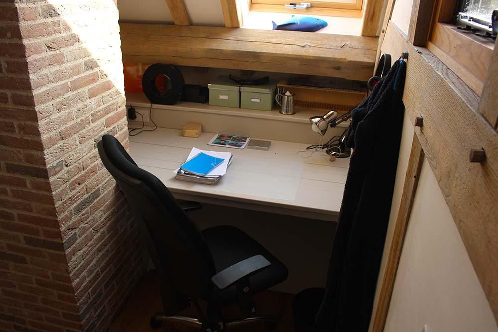 purpose made bedroom desk