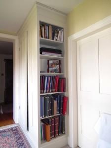 purpose made bookcase