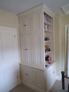 purpose made bookcase cupboard (2)