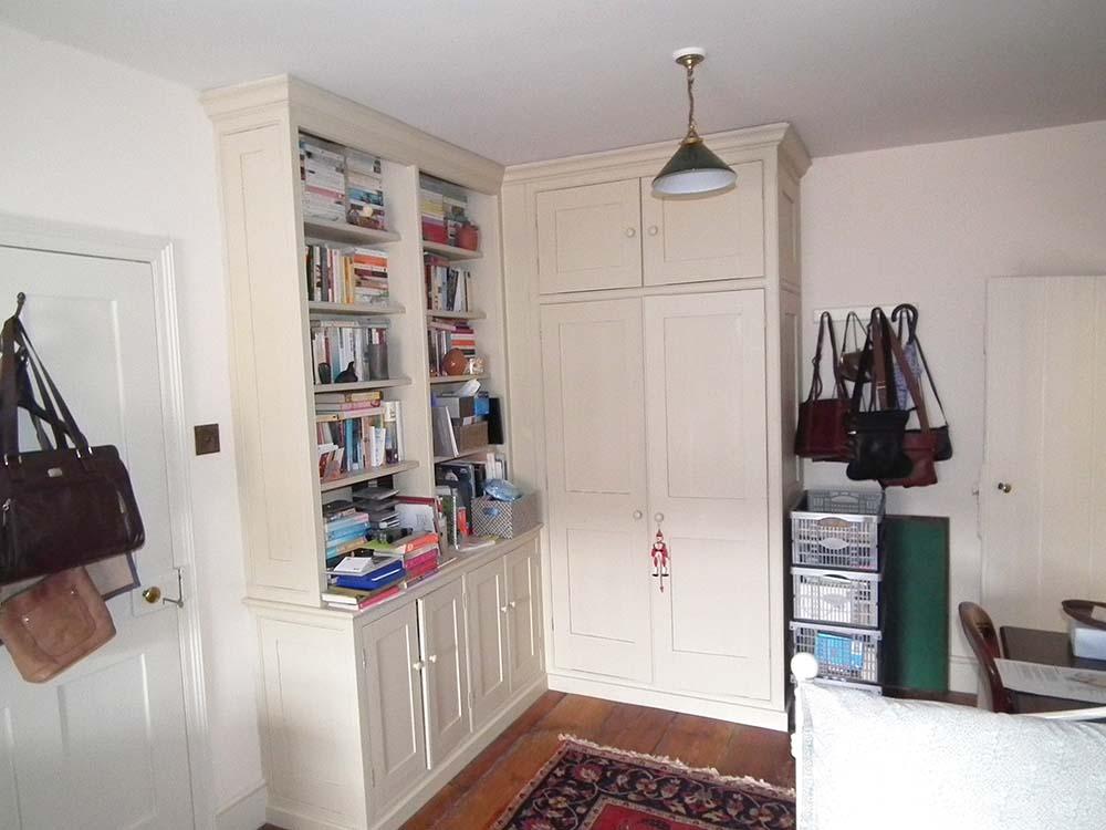 purpose made bookcase cupboard (3)