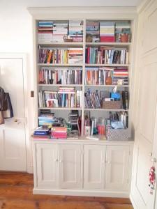 purpose made bookcase cupboard (4)