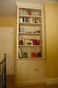 purpose made bookcase cupboard (5)