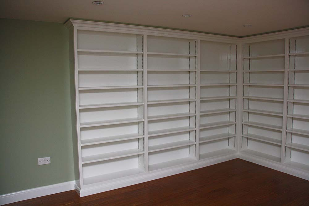 purpose made large bookcase (2)