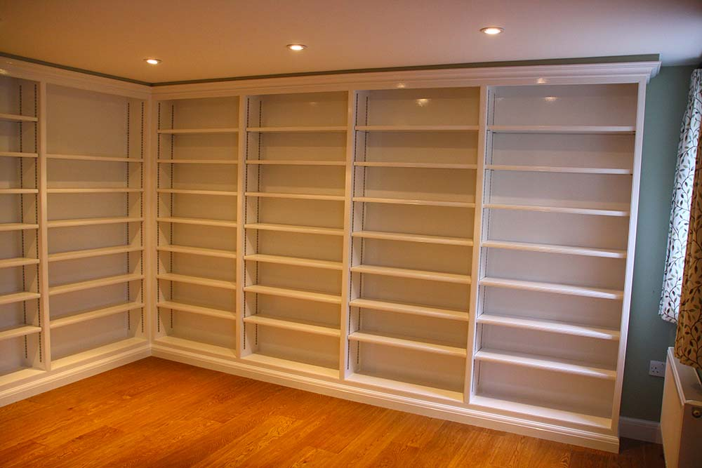 purpose made large bookcase (3)